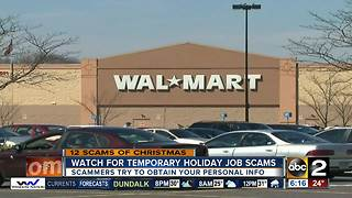 12 scams of Christmas: Some seasonal job posts may actually be scams - Video