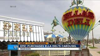 Madison company buys carousel from historic Ella's Deli