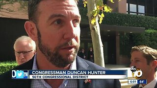 Rep. Hunter supports Trump, Navy SEAL