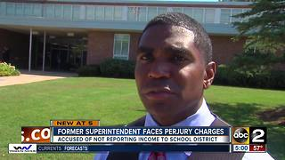 Former Baltimore County Schools Superintendent, Dallas Dance, charged with perjury