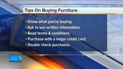 Call 4 Action: Tips for buying furniture without being scammed