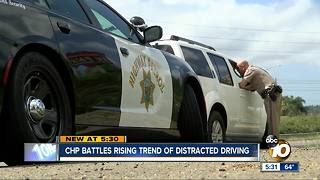 """CHP on high alert for """"Distracted driving awareness month"""""""