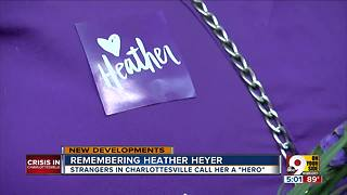 Remembering Heather Heyer: Strangers in Charlottesville call her a hero - Video