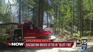 Evacuation order lifted for Walker residents