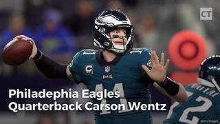 Carson Wentz Shows Colin Kaepernick How to Handle Season-Ending Adversities - Video