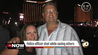 CVPD officer shot while saving others - Video