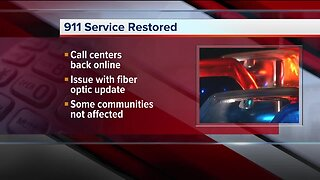 911 emergency lines restored after statewide outage