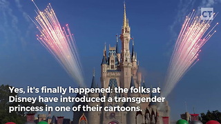 Disney Pushes Transgender Propaganda - Video