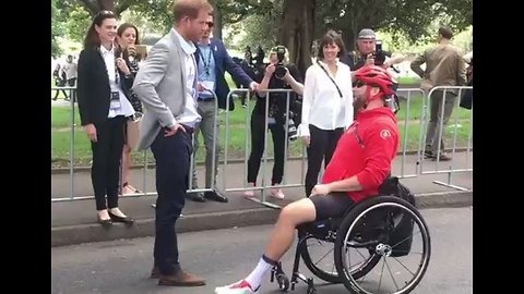 Prince Harry Tells Well-Wisher He's Hoping for a Girl