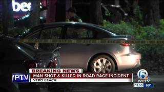Deputies investigating fatal road rage shooting in Indian River County - Video
