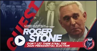Roger Stone | Former Advisor for President Reagan & Trump | Don't Let Them Steal the Election