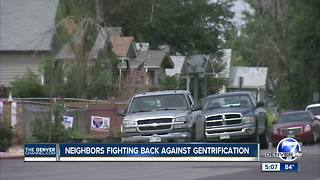 Northeast Denver neighborhood fighting back against redevelopment - Video