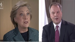 Reporter to Clinton: So You Still Blame Others For Your Loss? - Video