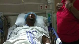 Tulsa man recieves new kidney after 8 year wait - Video