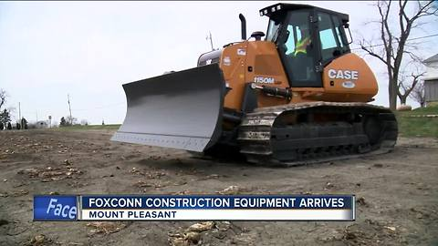 Foxconn construction ready to roll
