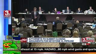 Keystone XL Pipeline hearings wrap in Lincoln - Video