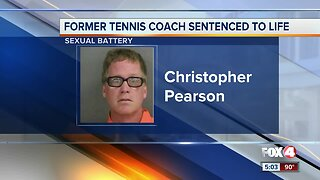 Former Collier County tennis coach sentenced to life