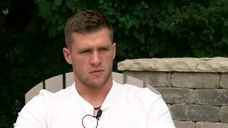 lance Allan's full interview with T.J. Watt - Video