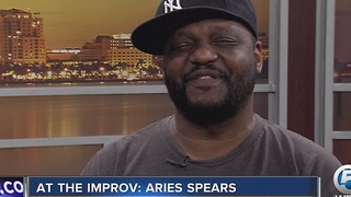 Comedian Aries Spears at Palm Beach Improv - Video