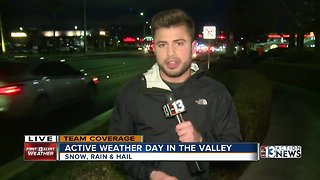 Winter Weather Advisory issued in Las Vegas