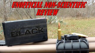 .223 HORNADY BLACK REVIEW