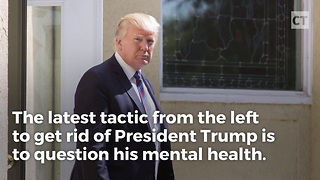 Liberal Lawyer Defends Trump's Mental Health - Video