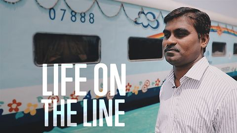 Saved on a train: India's fastest operating room