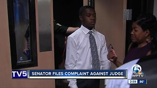 St. Senator files complaint against judge