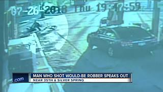 Concealed carry permit holder shot would-be robber at Milwaukee gas station
