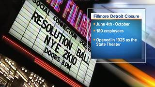 Report: Fillmore Detroit to close for renovation - Video