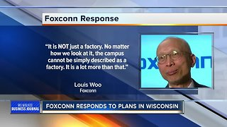 Foxconn pushes back on reports to rethink plans for Wisconsin