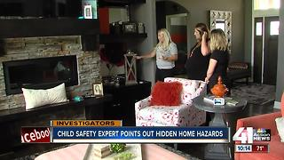 Child proofing expert uncovers hidden hazards - Video