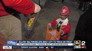 Baltimore ranked 6th best city to trick-or-treat - Video