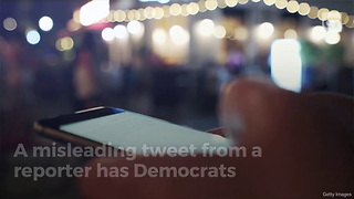 Dems Lose It Over Misleading Tweet About Trump - Video