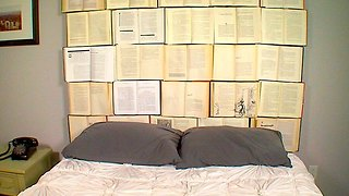 6 Steps to Make a DIY Book Headboard at Home - Video