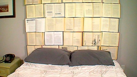 6 Steps to Make a DIY Book Headboard at Home