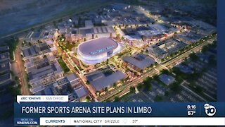 Sports Arena site plans in limbo