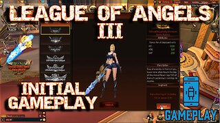 [Gameplay] League of Angels 3 - Esprit Games - Intro - First Steps and Menus - Browser Game