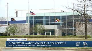 Baltimore County Executive calls for General Motors plant to reopen