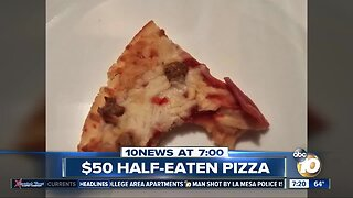 $50 pizza slice bitten by nfl star?