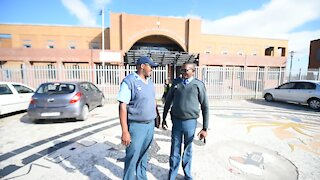 SOUTH AFRICA - Cape Town - Traffic officers at Khayelitsha Magistrate Court (5Mx)