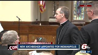 Pope Francis names Charles C. Thompson Indianapolis archbishop-elect - Video
