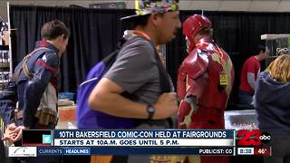 10th annual Bakersfield Comic-Con happening Saturday and Sunday - Video