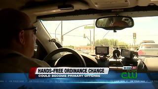 Pima County Sheriff's Department weighs in on hands-free ordinance - Video
