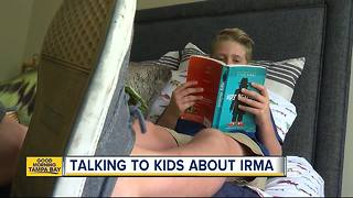 Taking to your kids about Hurricane Irma and keeping them calm - Video
