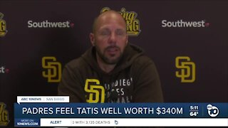 Padres feel Tatis well worth reported $340 million contract