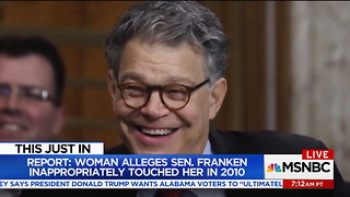 MSNBC Worries About 'Slippery Slope' if Franken Is Held Accountable for Sexual Abuse Allegations - Video