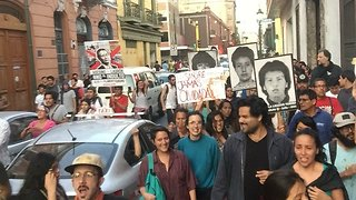 Protests Against Fujimori Pardon Take Place in Lima - Video