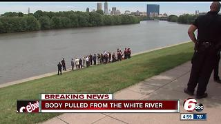 Body pulled from White River near Indianapolis Zoo - Video
