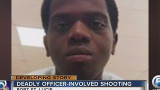 Deadly officer-involved shooting - Video